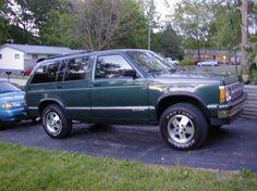 92 Chevy Blazer