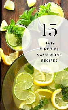 15 Cinco de Mayo Drinks That Are Easy to Make at Home (and Aren't All Margaritas)  via @PureWow