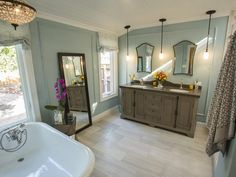 Spa Retreat - 25 Amazing Room Makeovers from HGTV's House Hunters Renovation on HGTV