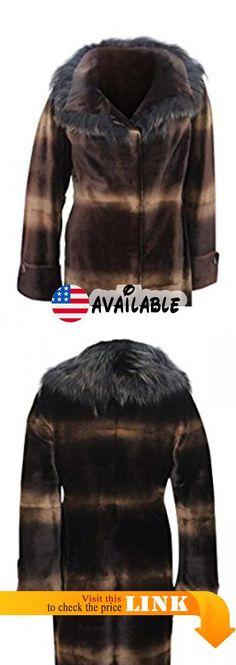 c8e04495a9965 B00MUKVNUE : New Women's Sheared Mink w Fox Fur Trim Stroller 6 Small  Gastagno/Multicolor