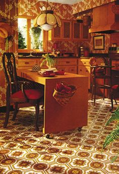 1970s Kitchen Decor