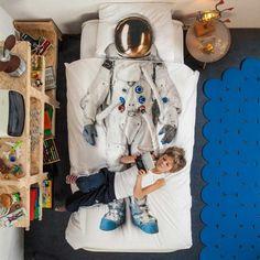 Astronaut Duvet Cover Set