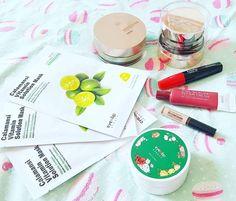 ���Unboxing Time🍃 🇫🇷 J'ai reçu un très beau paquet aujourd'hui de l'eshop @beautynetkorea 🍃Il contient uniquement des cosmétiques de la
