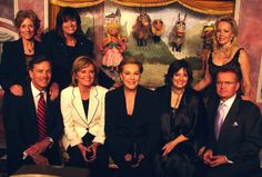 """""""The Sound of Music"""" ~ A reunion with the cast of """"The Sound of Music"""":  Julie Andrews and all of the children who are now adults..."""