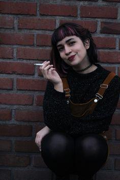 Fotografía, cigarro y sonrisa <3
