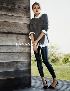 The Essentialist - Fashion Advertising Updated Daily: Banana Republic Ad Campaign Fall/Winter 2014/2015