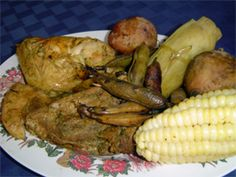 Pachamanca-food cooked in the ground