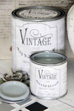 Jeanne d'Arc Living Vintage Matt Chalk Paint, via SavvyCityFarmer Celadon, Living Vintage, Paint Brands, Shades Of Turquoise, Mint, Duck Egg Blue, Mocca, Deco Design, Painting Tips