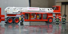 LEGO Ideas - Fire Truck Hook and Ladder