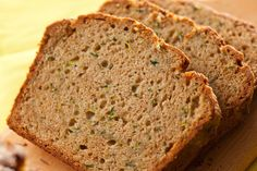 A classic zucchini quick bread recipe with warm spices like cinnamon and nutmeg and packed with fresh zucchini.