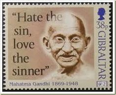 Mahatma Gandhi on Sacrifice I thought he was Hindu? Word Of Faith, Word Out, Mahatma Gandhi, Postage Stamp Design, Simply Stamps, History Of India, Envelope Art, Vintage Stamps, Stamp Collecting