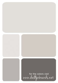 These are pretty Color Board: Soft Greys Master Bedroom Design, Bedroom Art, Wall Colors, Paint Colors, Room Colors, Modern Headboard, Interior Paint, Interior Colors, Interior Ideas