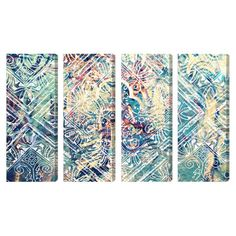 Damask Canvas Print, Oliver Gal (Set of 4) at Joss and Main