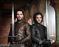Robb Stark & Jon Snow - game-of-thrones Photo
