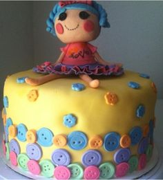 Lalaloopsy cake. Alexsandra's sweet Yumyums on Facebook