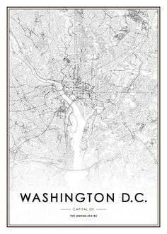 Washington D.C. Poster