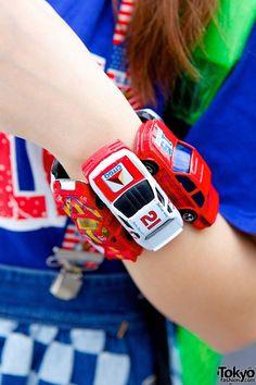 Toy cars bracelet