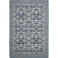 @Overstock - Safavieh Evoke Royal/ Ivory Rug (8' x 10') - Safavieh's Evoke collection is inspired by timeless vintage designs crafted with the softest polypropylene available.  http://www.overstock.com/Home-Garden/Safavieh-Evoke-Royal-Ivory-Rug-8-x-10/9942223/product.html?CID=214117 $270.99