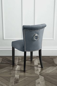 Positano Dining Chair with Back Ring - Smoke £89.99