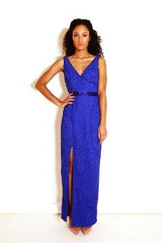 c81d6602fcf Renata Dress Blue - Virgos Lounge