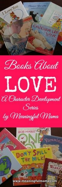 Books About Love - Character Development Series