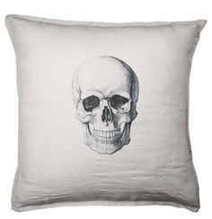 embroidered skulls #decor #home #skull #design