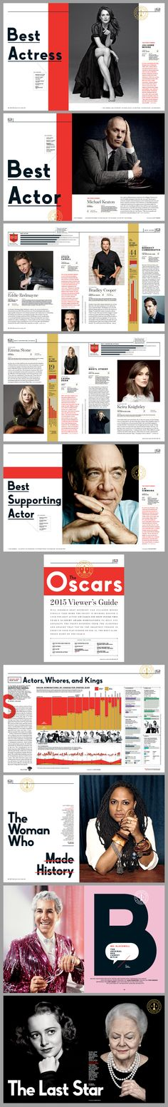 The Oscars 2015 issue