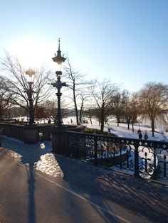 Alster in winter