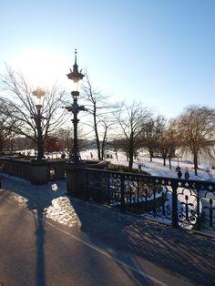 Die #Alster im Winter #Hamburg #EuropaPassage #EuropaPassageHamburg