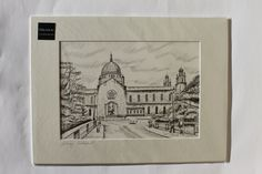 Galway Cathedral Irish Art, Art For Sale, Dublin, Cork, Cathedral, Framed Prints, Drawings, Painting, Painting Art