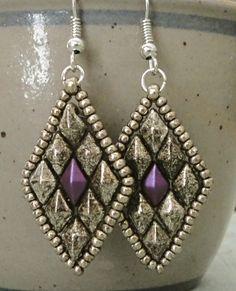 Linda's Crafty Inspirations: Tammy Bracelet & Toni Earrings Set