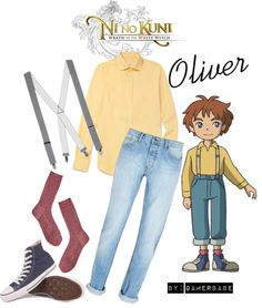 """""""Oliver from Ni No Kuni: Wrath Of The White Witch"""" by gamerbabe91 on Polyvore"""