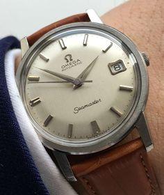 Perfect, serviced Omega Seamaster Calendar Automatic, Vintage