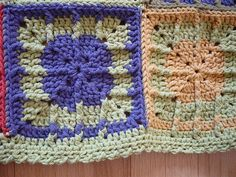 Ravelry: Project Gallery for Post Stitch Squares pattern by Carole Rutter Tippett
