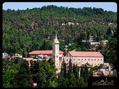 St. John the Baptist Church in Ein Kerem is a Catholic monastery and church built above the cave believed to be where the John the Baptist, who baptized Jesus Christ, was born.