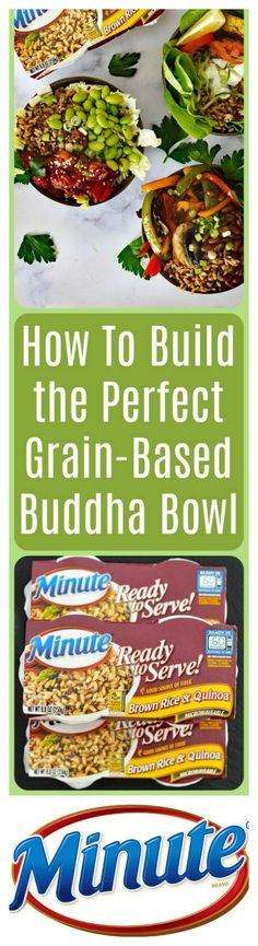 "AD I'm partnering with Minute®️️ Ready to Serve Brown Rice & Quinoa to show you my spin on How to Build the Perfect Grain-Based Buddha Bowl! I decided to create three very different, but very delicious bowls for you today. There's something for everyone: a Falafel Bowl, a Portobello Fajita Bowl and my take a on plant-based version of an ""Ahi"" Poke Bowl. Visit the blog post for more inspiration  https://theveglife.com/how-to-build-the-perfect-grain-based-buddha-bowl/"