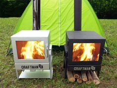 アウトドア・キャンプ用薪ストーブのCRAFTMAN 石村工業株式会社
