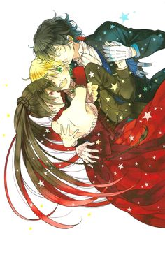 "Pandora Hearts Artbook ""There is"" . Alice , Oz and Gilbert"