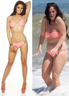 Vicky Pattison True inspiration!! before and after #weightloss picture http://sugarhoneystar.com/vicky-pattison-flashes-her-undie-and-bra-in-a-sexy-lace-dress/