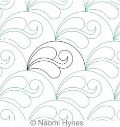 Drifting Clamshells P2P | Naomi Hynes | Digitized Quilting Designs