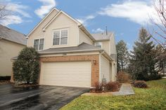 Looking for a large Grayslake townhome with a LOW LOW HOA?  This 3 bedroom, 2.1 bath end unit has over 1525 square feet and a 2+ car garage.   With its high ceilings, the eat-in kitchen overlooks the family room with large windows and a sliding to the secluded patio.  Upstairs, the master bedroom has its own bath and walk-in closet.  There's two more bedrooms and one bath and a small loft that is the perfect place for a video game room or office.  Second floor laundry is convenient…