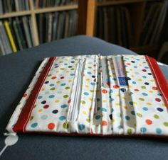 my craft room Sew Wallet, Fabric Wallet, Picnic Blanket, Outdoor Blanket, Wallet Tutorial, Craft Bags, Sewing Projects, Pouch, Diy Crafts