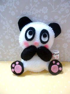 Felt Panda .