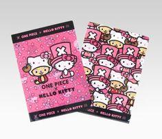 One Piece x Hello Kitty Clear Files: Chopper