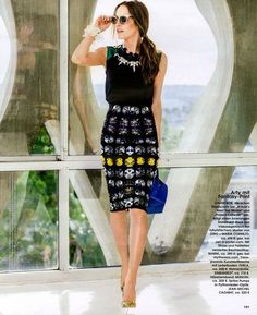 Louise Roe in InStyle Germany.. looking FABULOUS