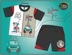 köpek baskılı erkek çocuk takım tasarım. Little Boy Outfits, Baby Boy Outfits, Little Boys, Kids Outfits, 1st Birthday Shirts, Baby Suit, Boy Models, Baby Design, Boys T Shirts