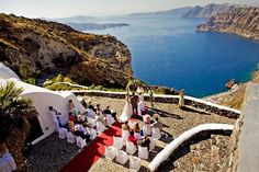 Antoniou Winery in Santorini. Such a great place for wedding!