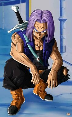 Future trunks nude directly