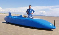 Don Wales and the Bluebird Electric Team set the UK electric land speed record by hitting 139 mph at the Pendine Sands in Wales.