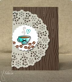 Warm Wishes, Coffee Lovers Blog Hop | shurkus.com (LOVE the mustache)